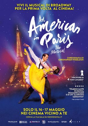 Locandina An American in Paris: The Musical