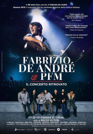 Locandina Fabrizio De Andrè e PFM – Il concerto ritrovato