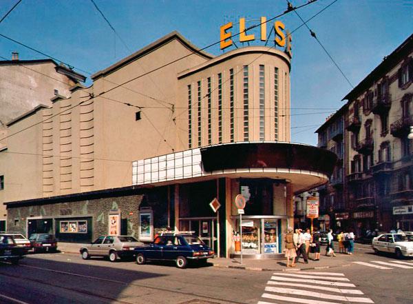 Cinema Eliseo - Entrata