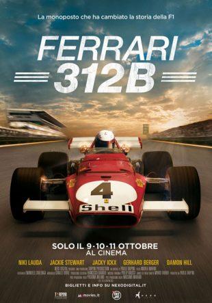 Locandina Ferrari 312B