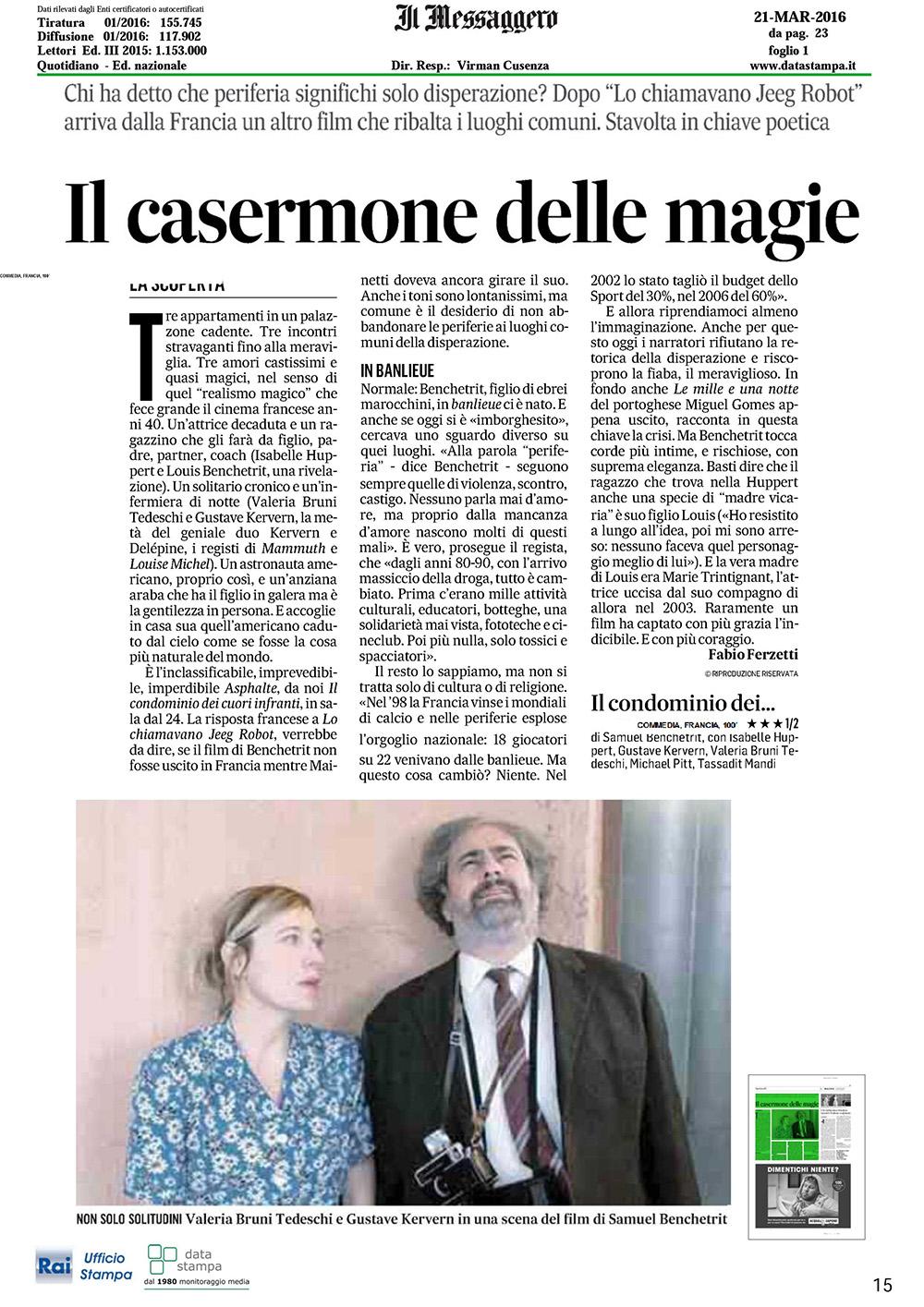 Il Condominio Dei Cuori Infranti Circuito Cinema Torino