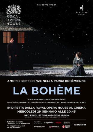 Locandina Royal Opera House: La Bohème