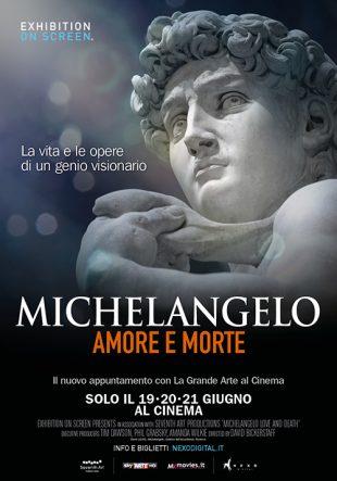 Locandina Michelangelo – Amore e Morte