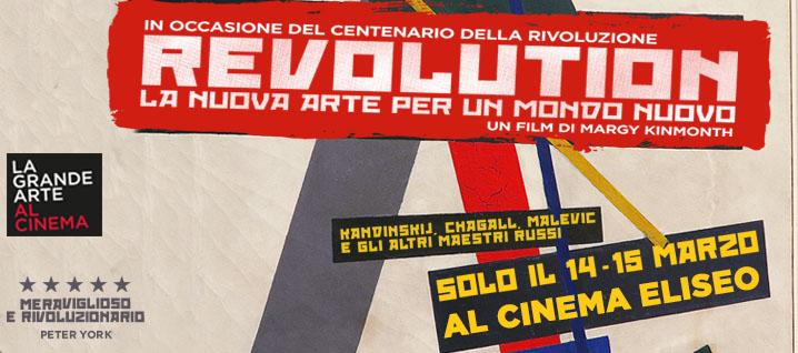 REVOLUTION – La Nuova Arte per un Mondo Nuovo