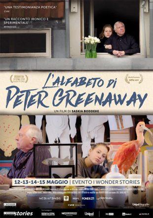 Locandina L'alfabeto di Peter Greenaway